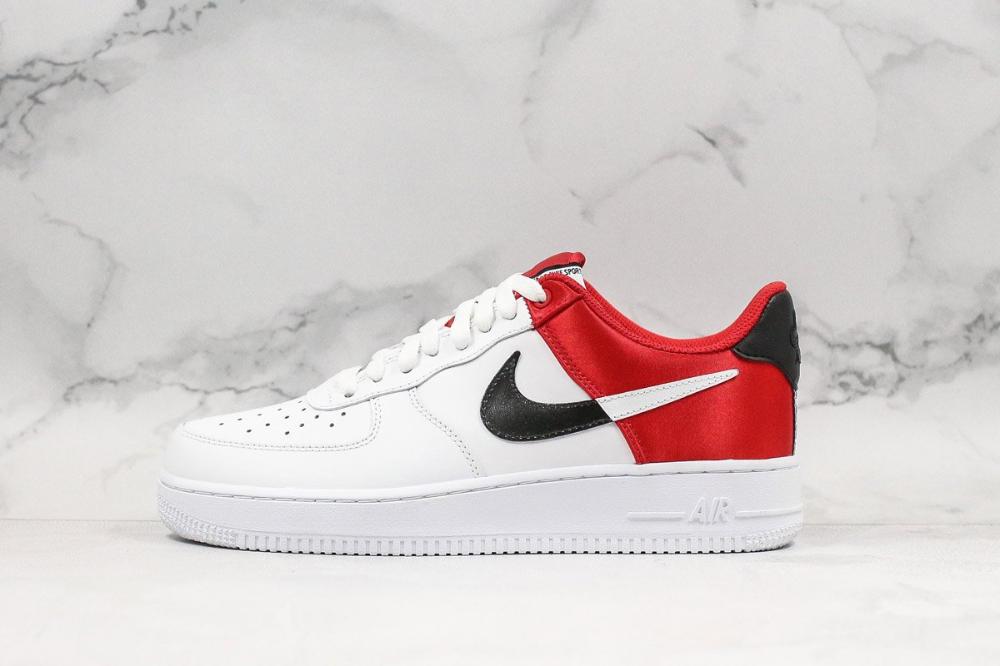 Nike Air Force 1 07 White Red Black