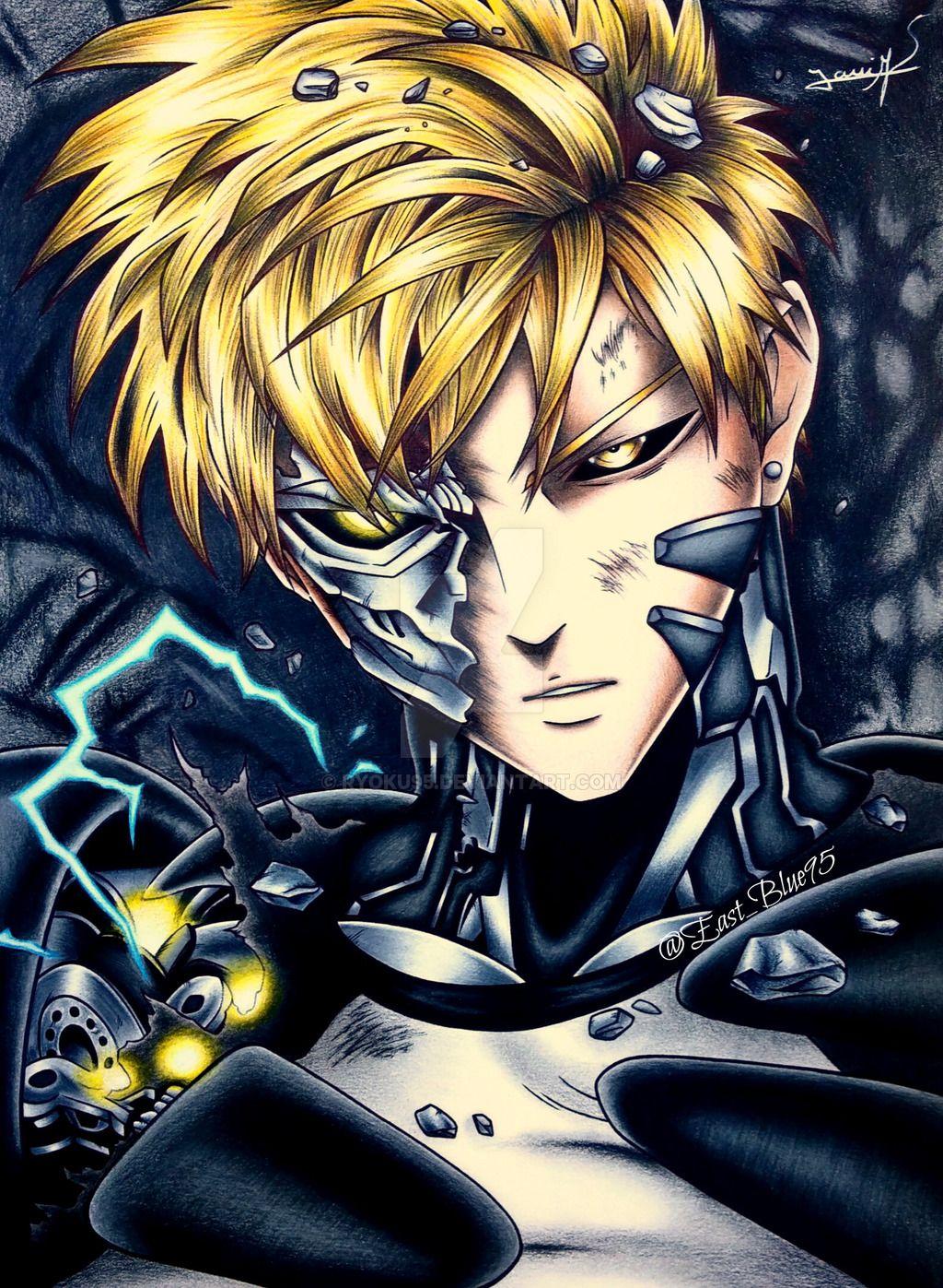 Genos One Punch Man By Ryoku95 Deviantart Com On Deviantart