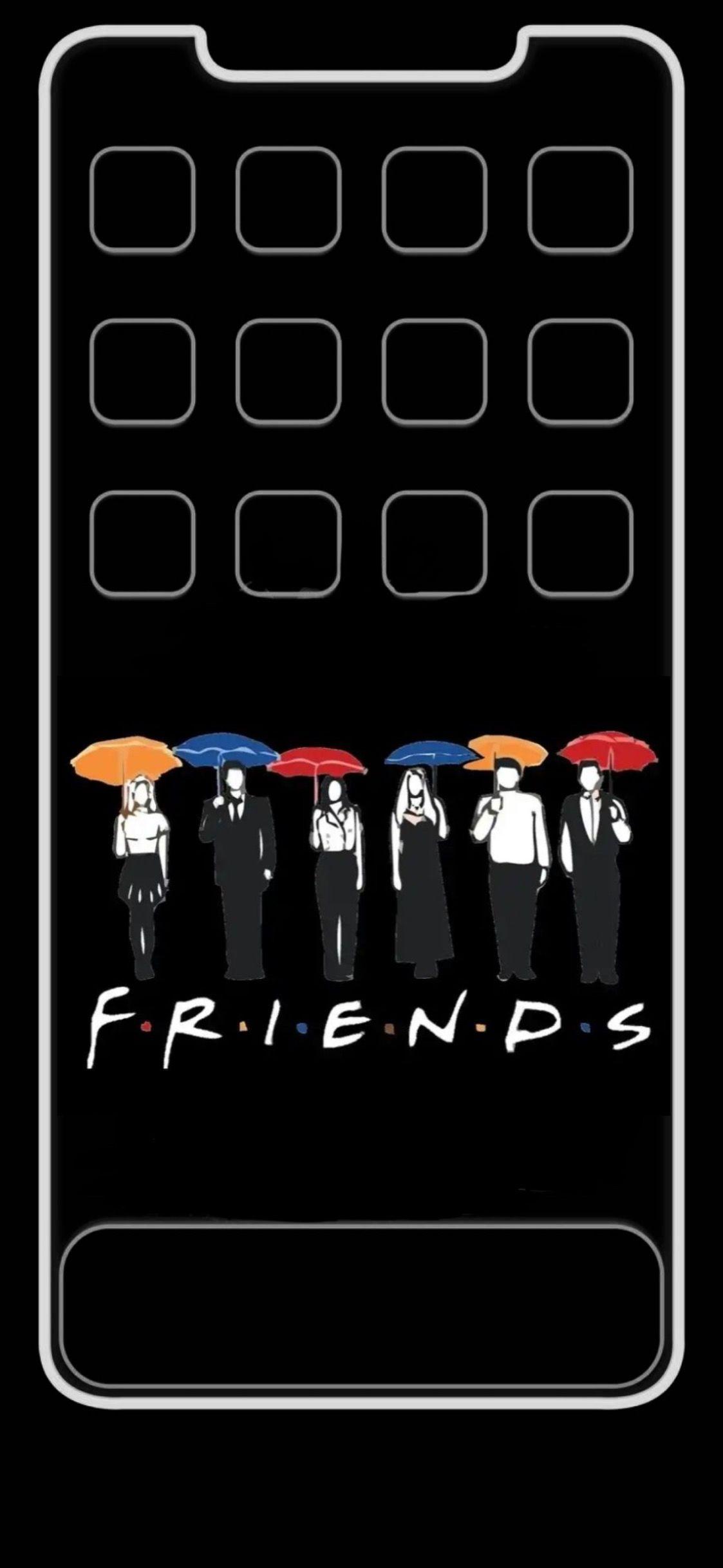 Friends Tv Show Iphone Xs Max Wallpaper Iphone Friends Tv Show