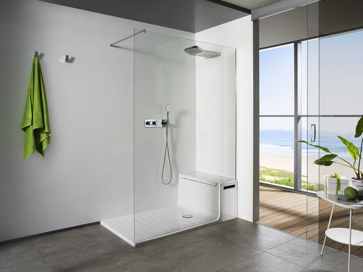 shower cubicle with seat - Google Search | Bathrooms | Pinterest ...