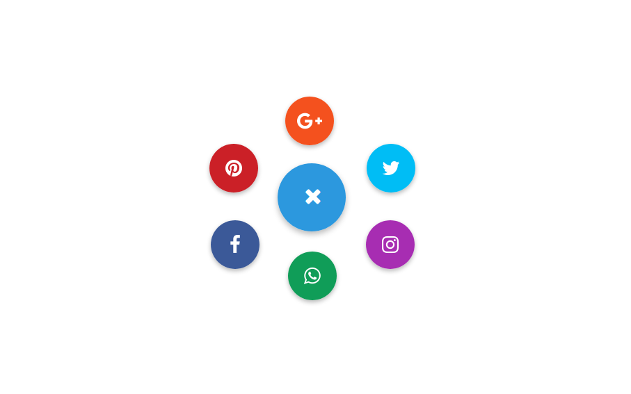 Social toggle button design using bootstrap | NiceSnippets