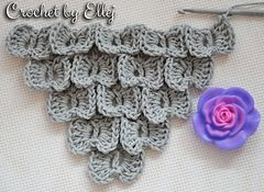 This stitch looks like Crocodile Stitch.