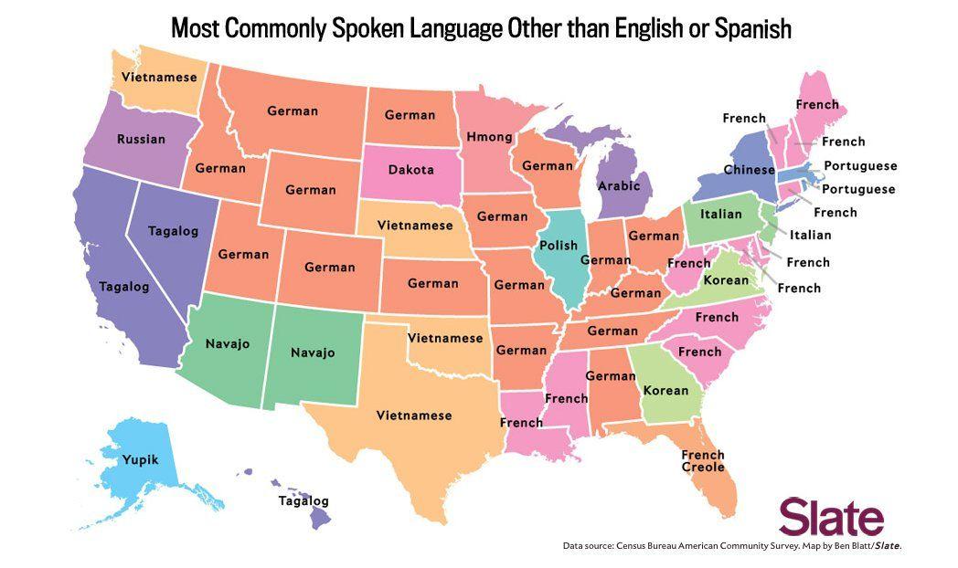 Abgefahren In Diesen Us Staaten Ist Deutsch Die Wichtigste