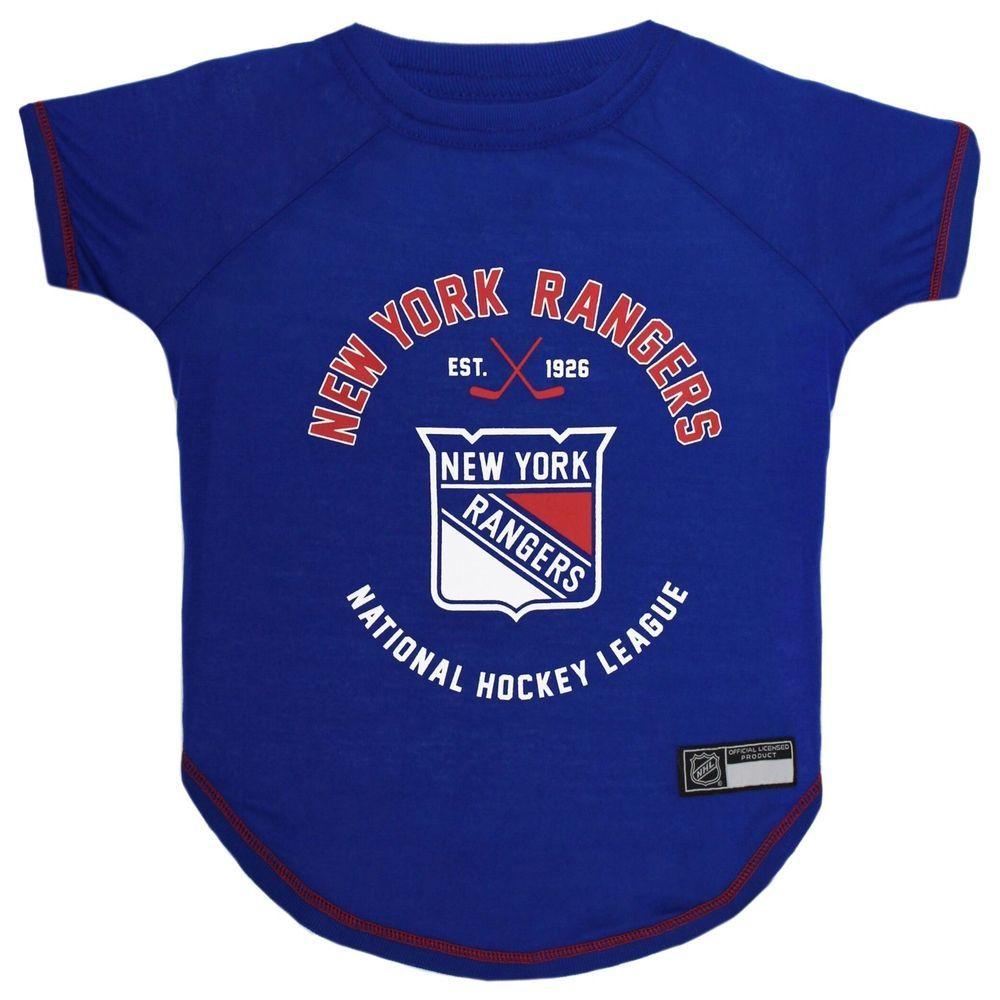 New York Rangers Officially Licensed NHL Dog Pet Tee Shirt b9c74cf24