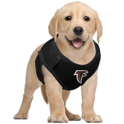 separation shoes 67f9d ee0fb Atlanta Falcons Pet Vest Harness - Black   Dog Gear and ...