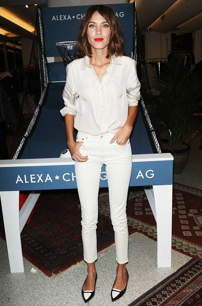 9 Things Alexa Chung Taught Us About Denim