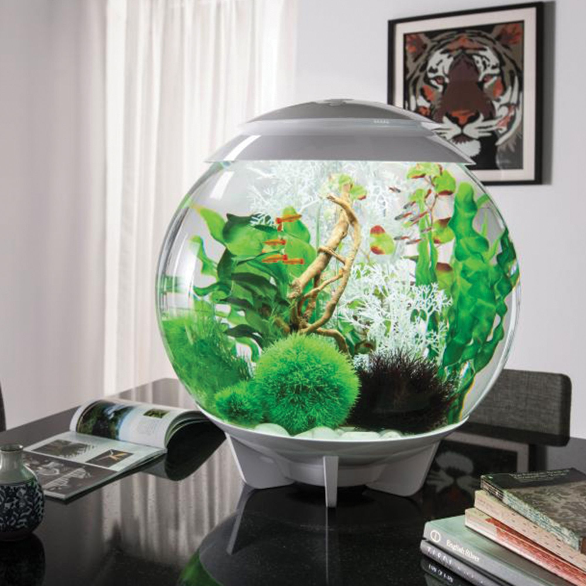 Home Aquarium Design Ideas: The BiOrb HALO 60, Which Is A 16 US