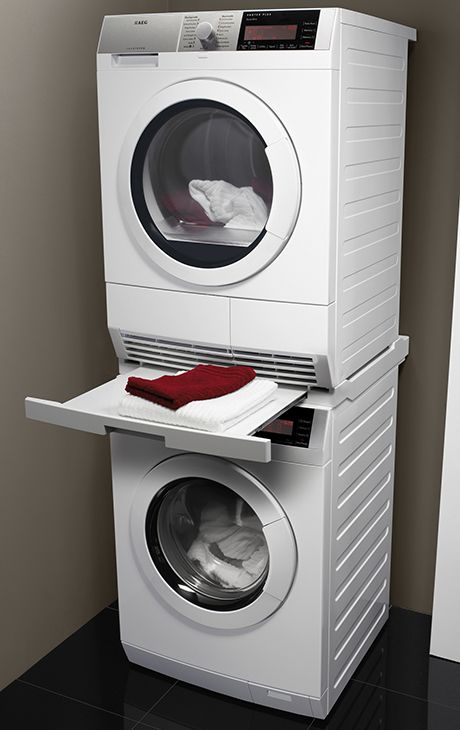 The New Aeg Laundry Pair Protex Plus Washer And Dryer