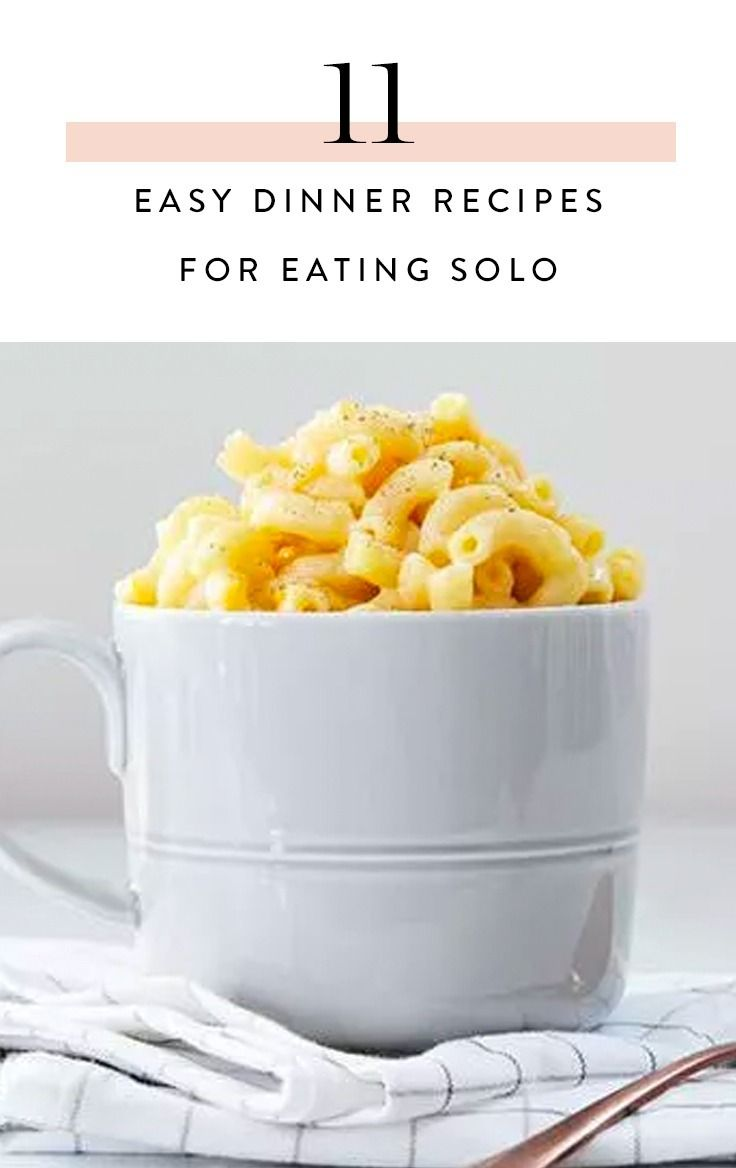 11 Easy SingleServe Dinner Recipes for When You're Eating Solo is part of Easy single serve - S O  just isn't home for dinner, you're fending for yourself tonight  You don't want a ton of leftovers, but you also don't want scrambled eggs or a salad  What to do…  Oh! Make one of these scrumptious singleserve meals