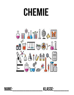 chemie deckblatt pdf   schulbeginn   ersterschultag   einschulung   vorlage   ausdrucken