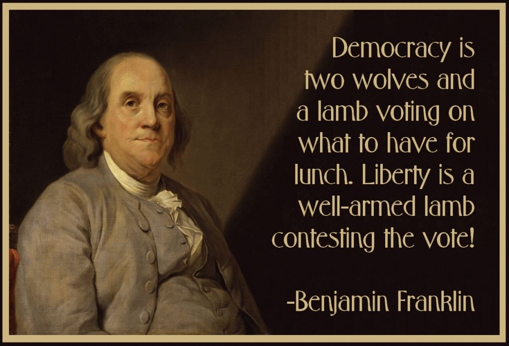 Quote Of Benjamin Franklin Benjamin Franklin Quotes About