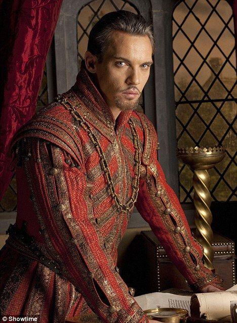 Jonathan Rhys Meyers as King Henry VIII in The Tudors