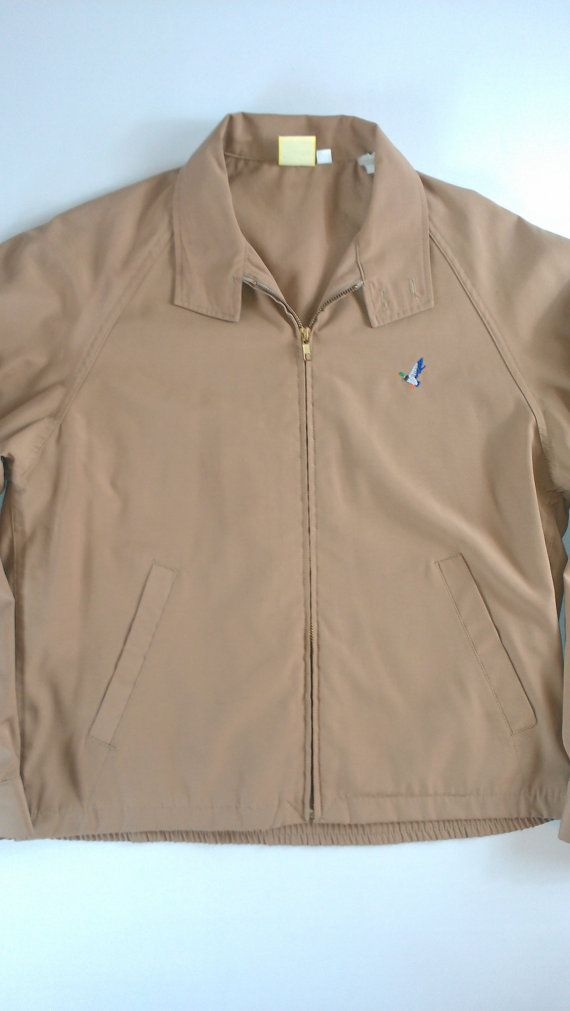 Vintage Flying Scotsman Khaki Jacket bcC54WQ