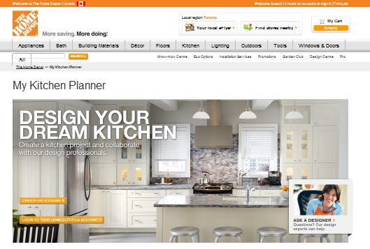Exceptionnel Kitchen Planner From Home Depot