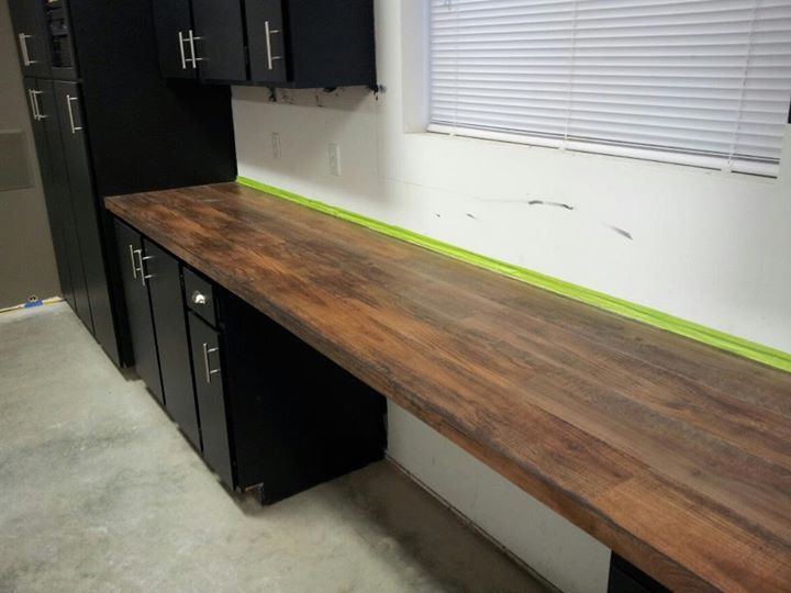 peel and stick wood vinyl planks for countertops. | diy house