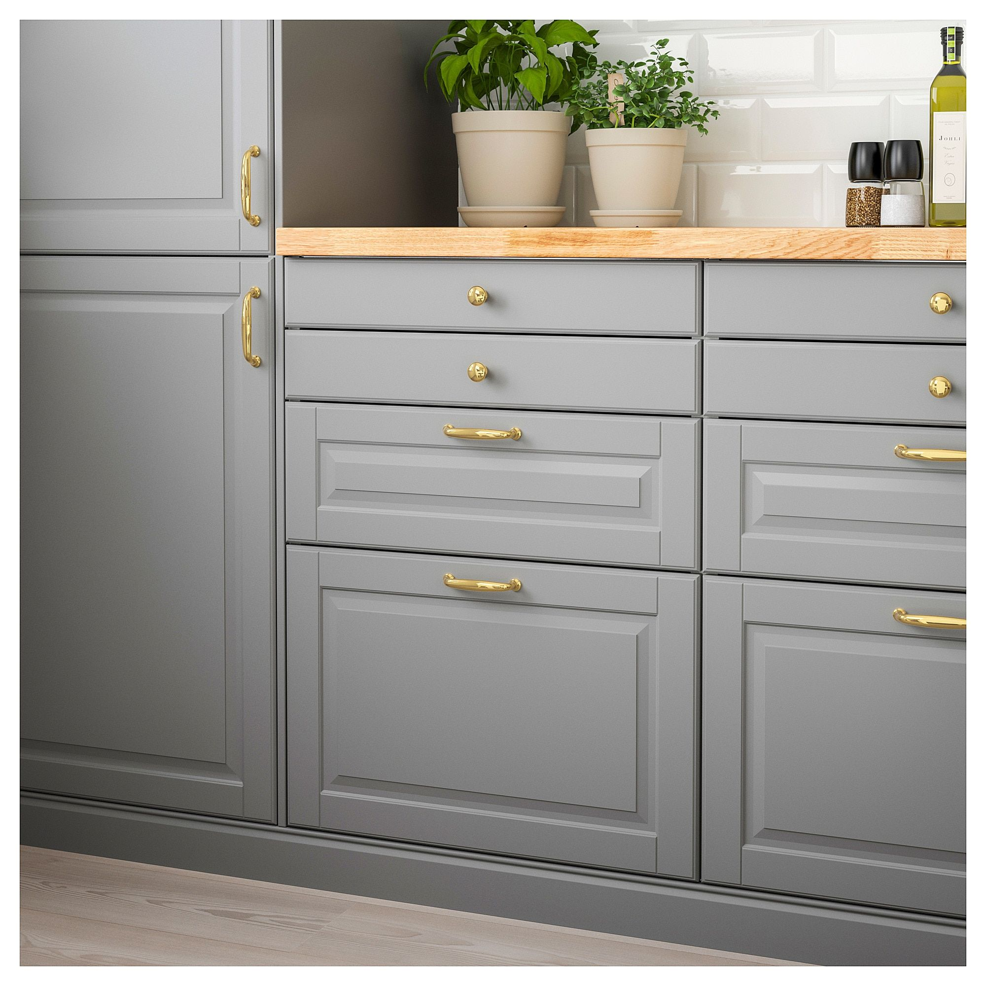 IKEA - BODBYN Drawer front gray