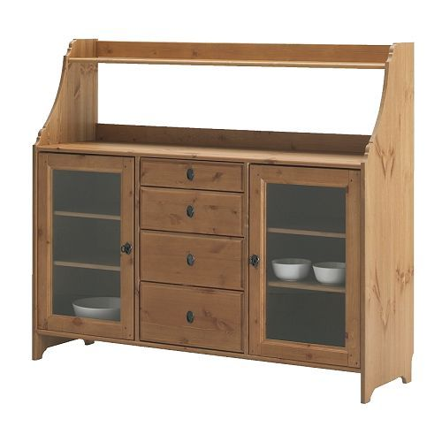 Leksvik Buffet Ikea Smooth Running Drawers With Stop 4 Adjule Shelves Adjust Ing According