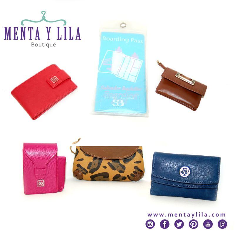 Productos para mujeres de la marca Salvador Bachiller: Billeteras, estuche para celulares, tarjeteros, monederos, bolsitos y más.