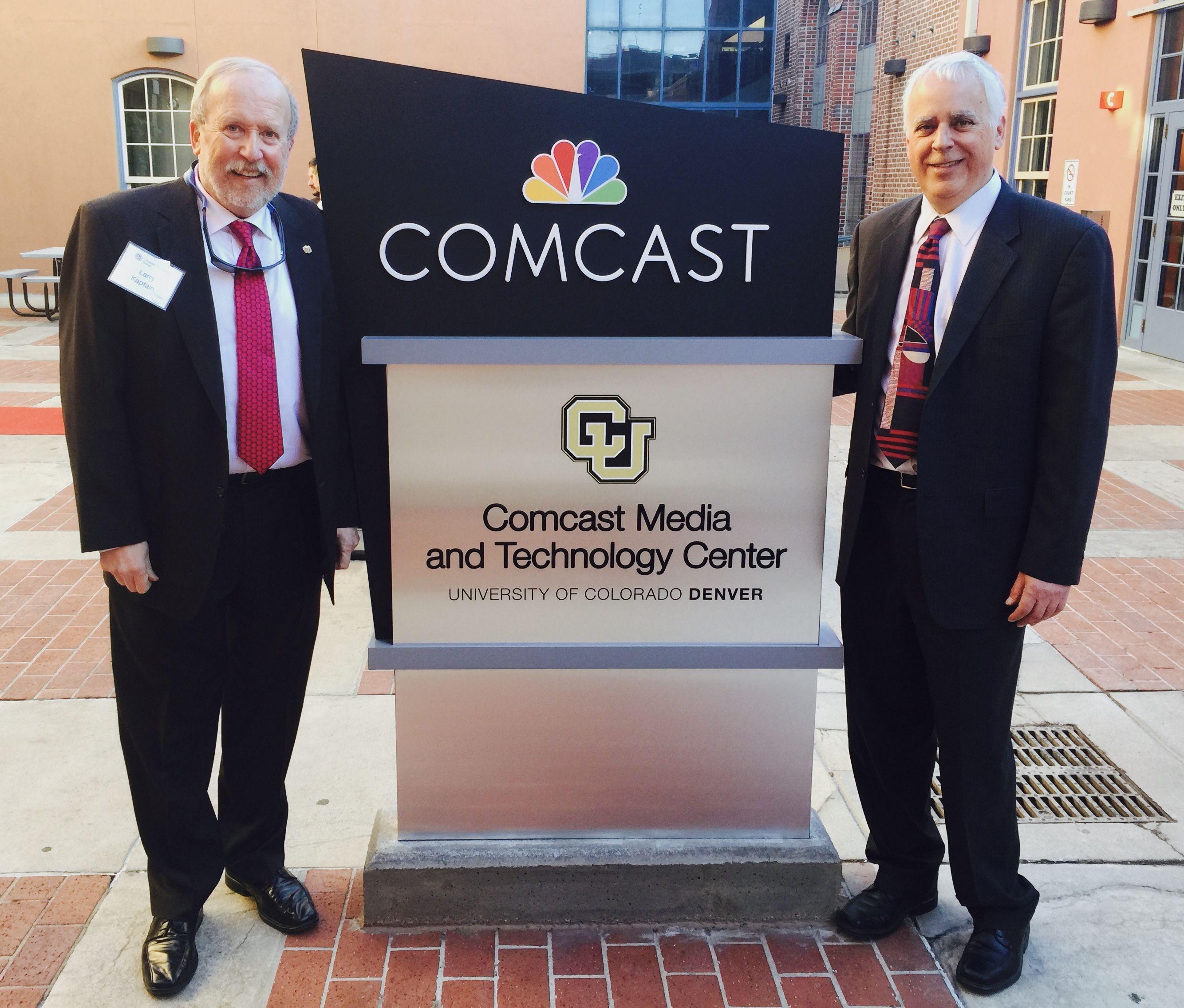 Comcast Center For Media And Technology At Cu Denver Cam Dean University Of Colorado Denver Media Comcast
