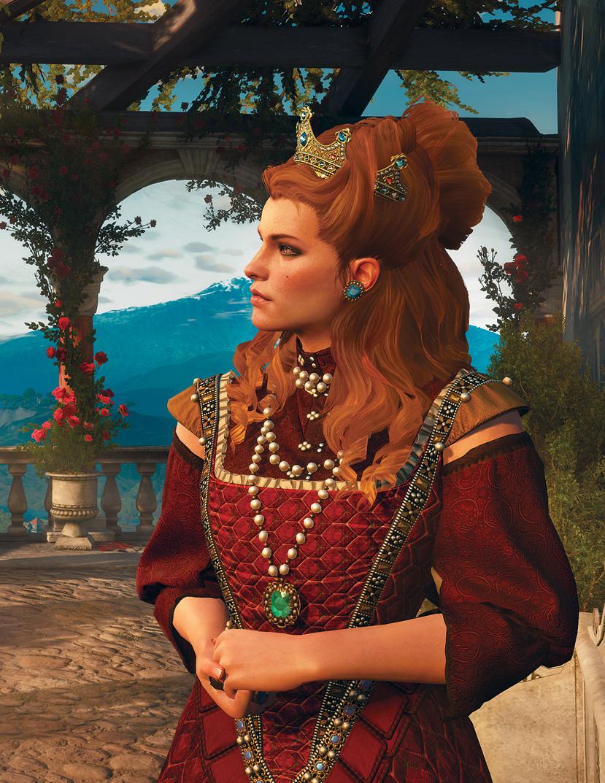 Anna Henrietta of Toussaint/Witcher3/Анна Генриетта ...