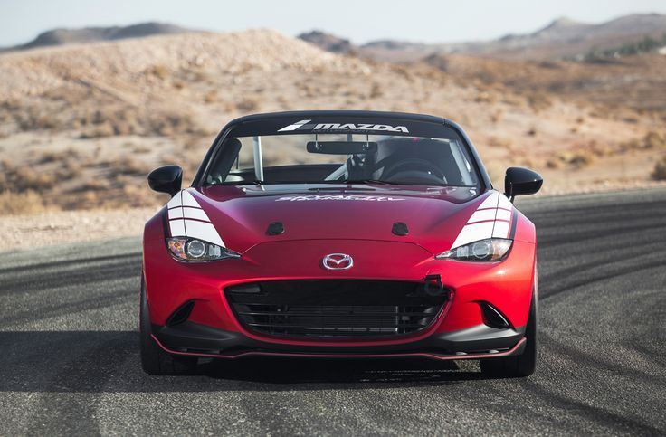 The official 2016 MX-5 Global Cup Car View from the front