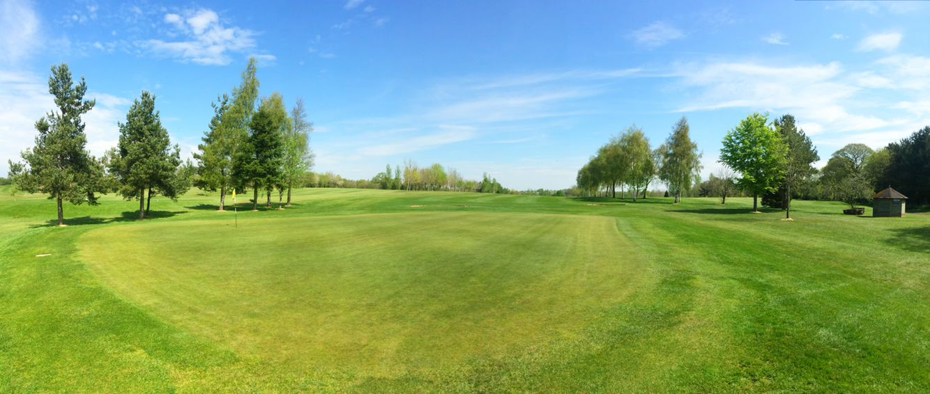 Beautiful afternoon here at cmgc 24 degrees fast greens