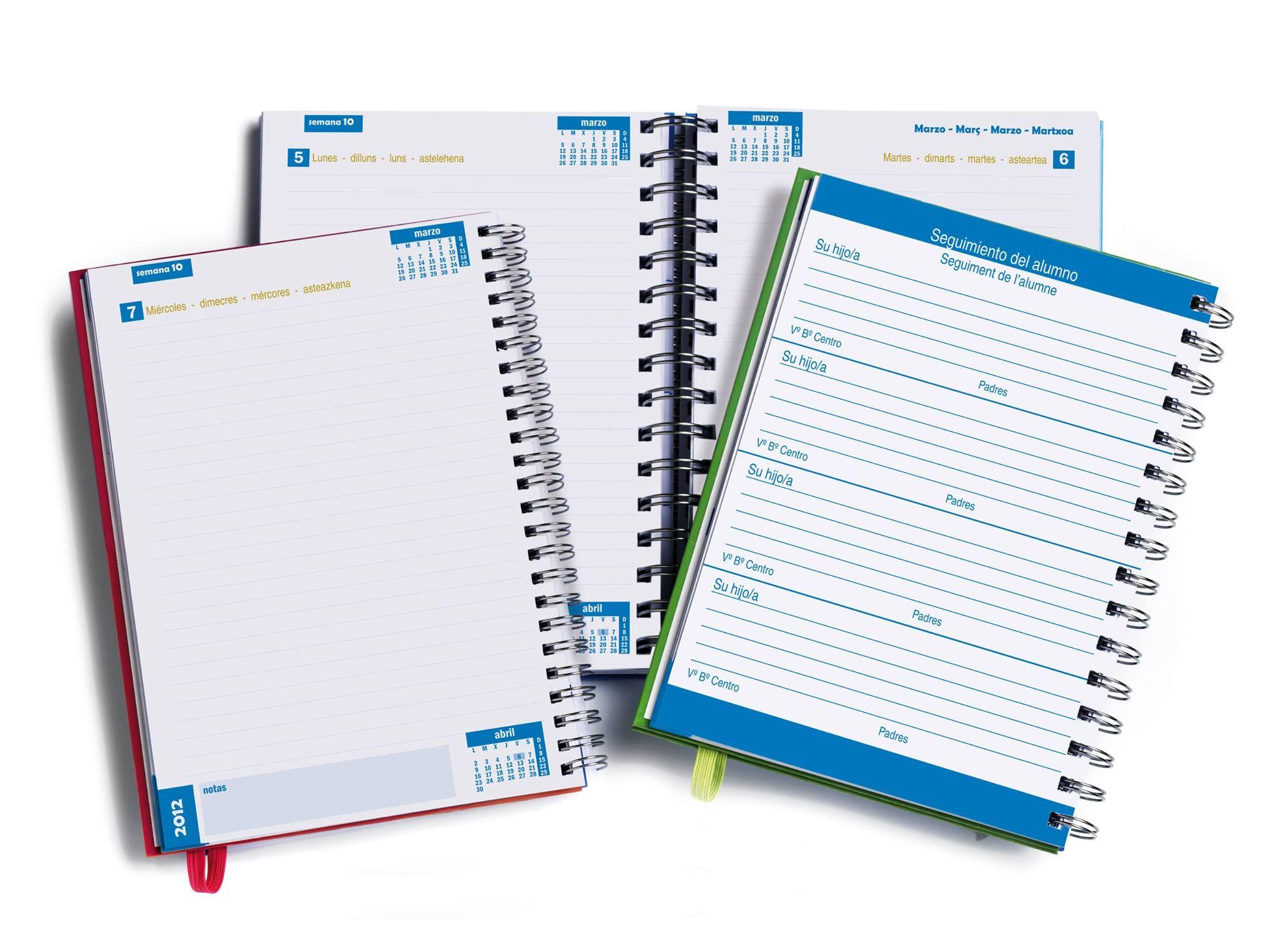 Diseño de agendas escolares para Liderpapel | Agenda escolar
