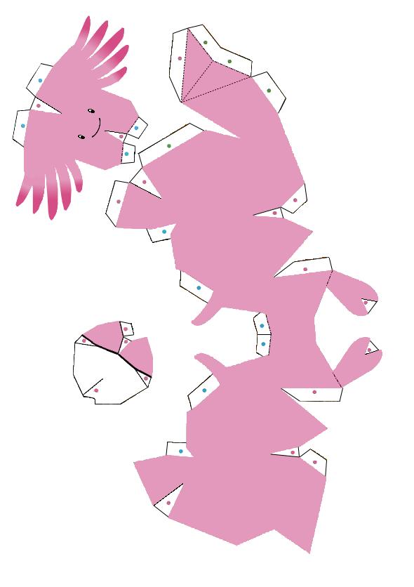 Pokemon Papercraft Articuno