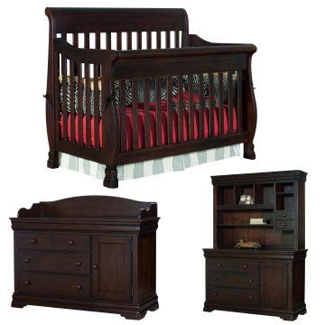 $1600 Creations Baby Carragio 4 in 1 Convertible Crib Package ...