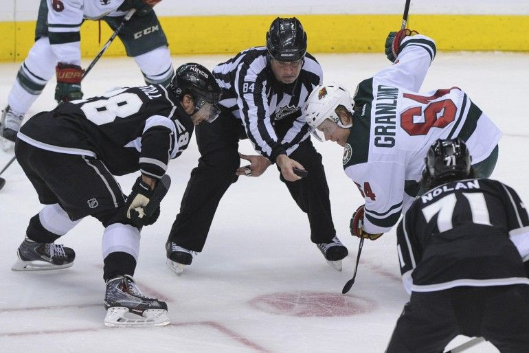 Minnesota Wild At Los Angeles Kings Los Angeles Kings Minnesota Wild Usa Today Sports