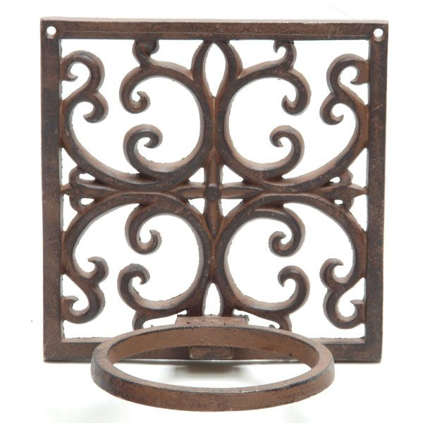 Image Result For Cast Iron Wall Mounted Plant Holder Flower Pot Holder Baskets On Wall Wall Mounted Plant Holder
