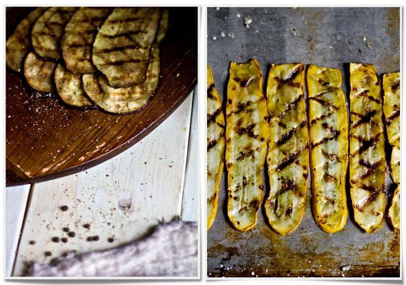 Grilled eggplant and squash lasagna! | give me flour
