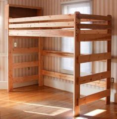 Woodwork Loft Bed Plans Woodworking Wood Projects Pinterest
