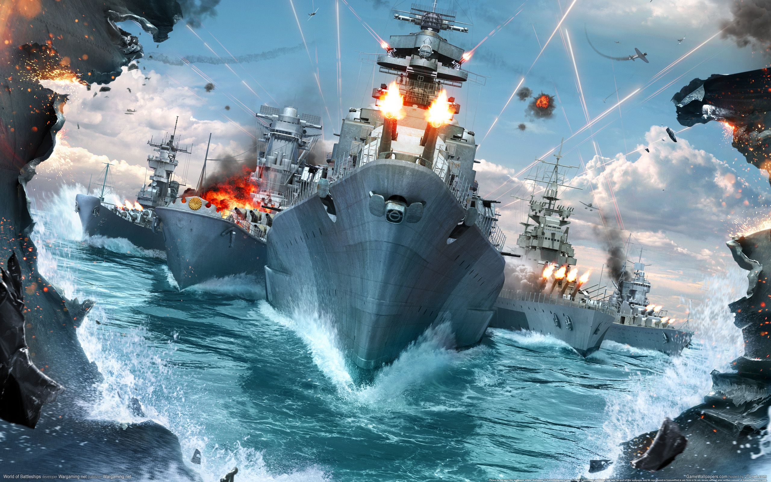 Battleship Wallpaper HD Resolution BK5 World of