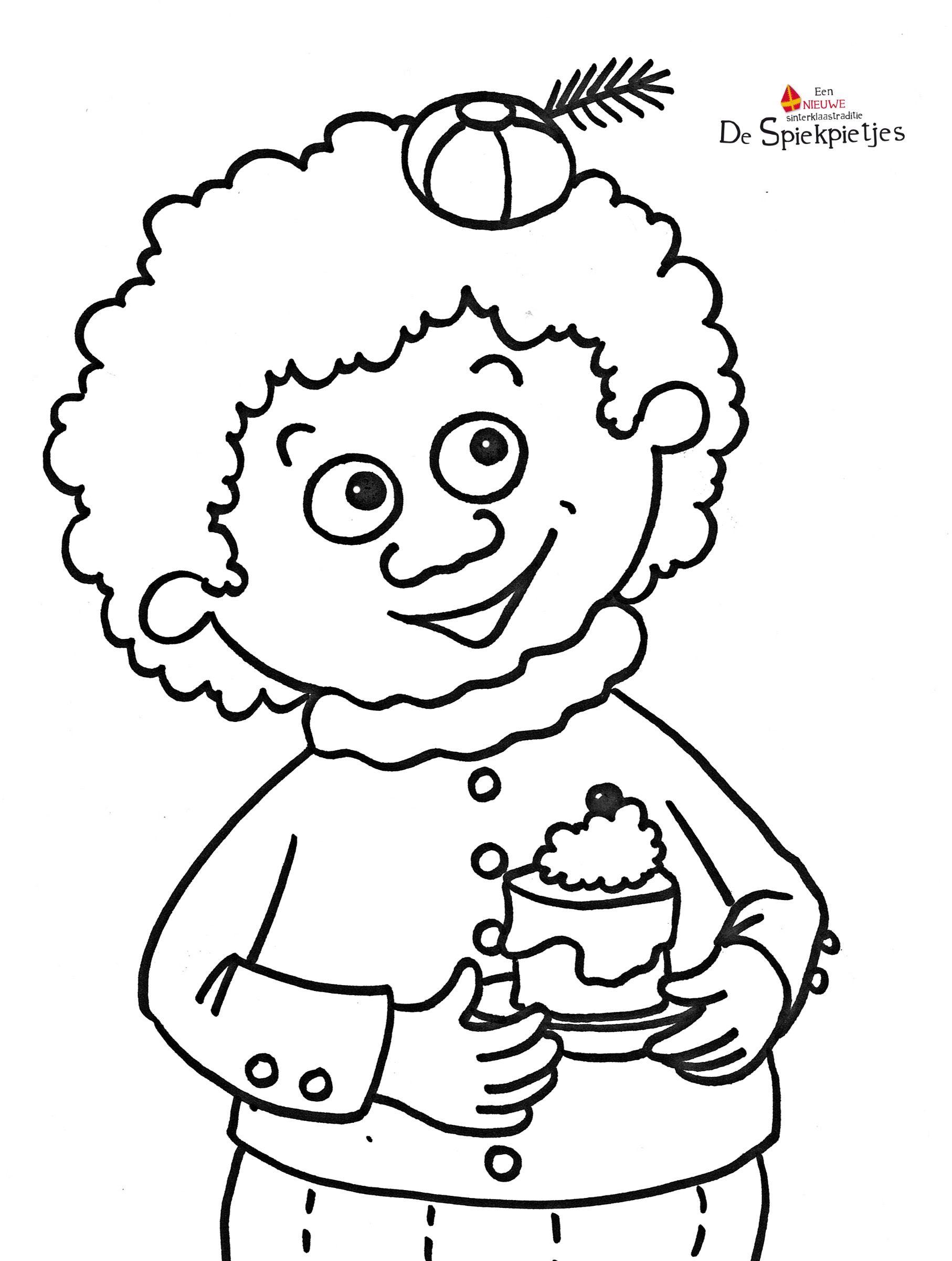 De Spiekpietjes Ontstonden In Hoofd En Hand Van Kinderboekenschrijfster Thas Vanderheyden Thas Tekende En Schreef Onde Knutselen Sinterklaas Sinterklaas Thema