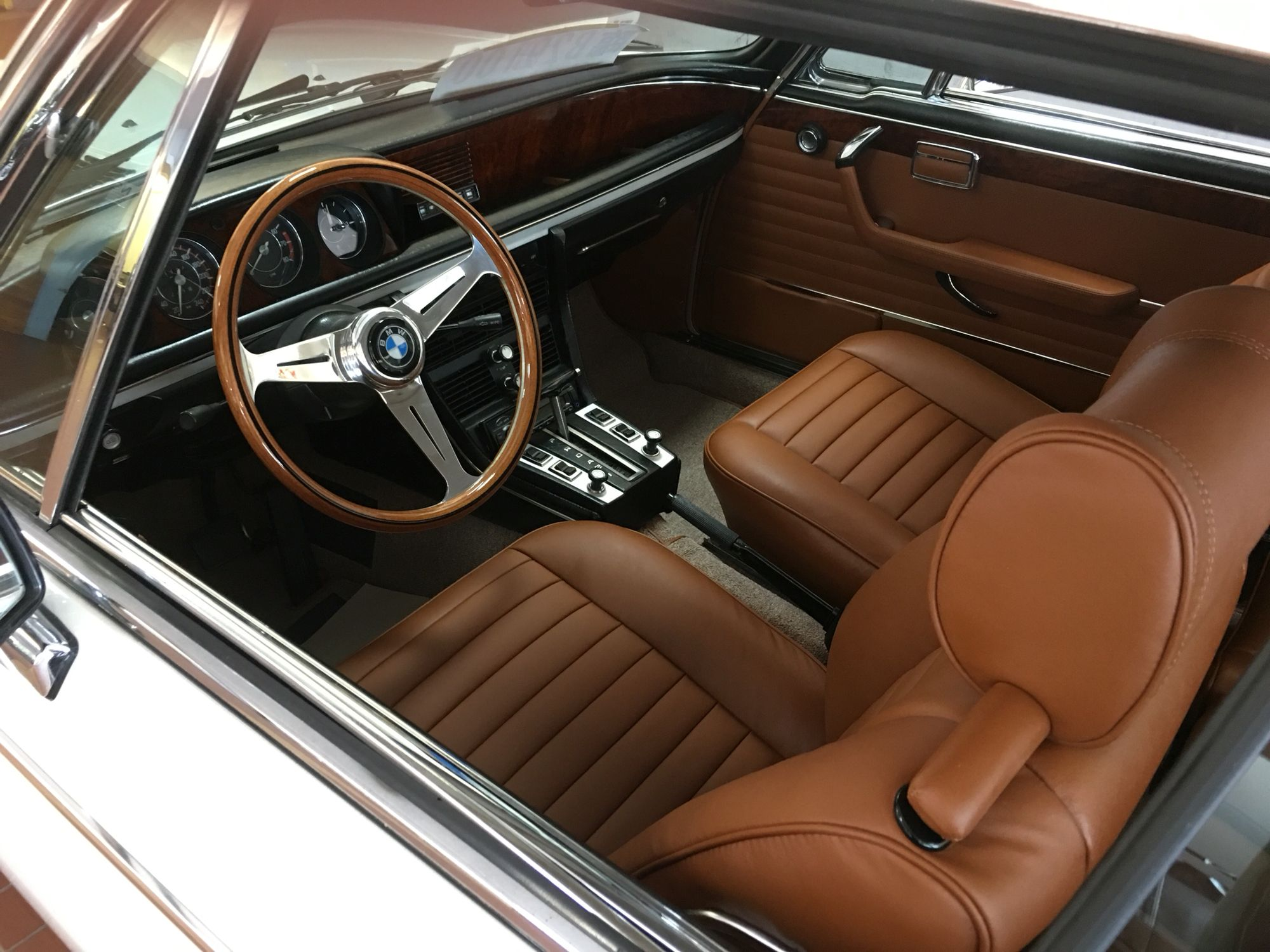 1975 Bmw 3 0cs Interior