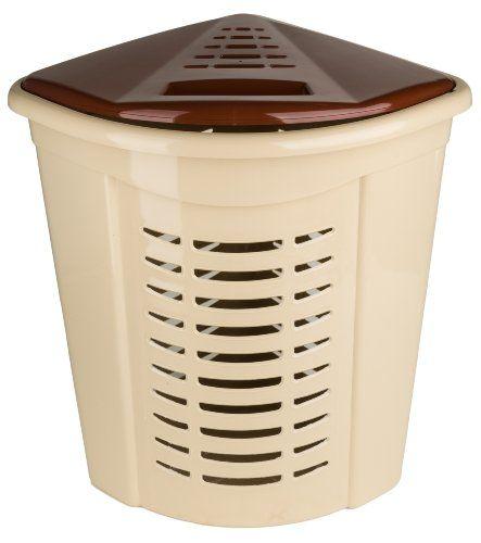 Corner Laundry Hamper (Beige and Brown) 1.30 Bushel / 45 Liter Superior Performance Inc http://www.amazon.com/dp/B00IO4CDPO/ref=cm_sw_r_pi_dp_63wQub08AJJJG