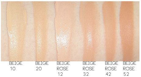 6f2682d9587 Chanel Perfection Lumiere Foundation Swatches