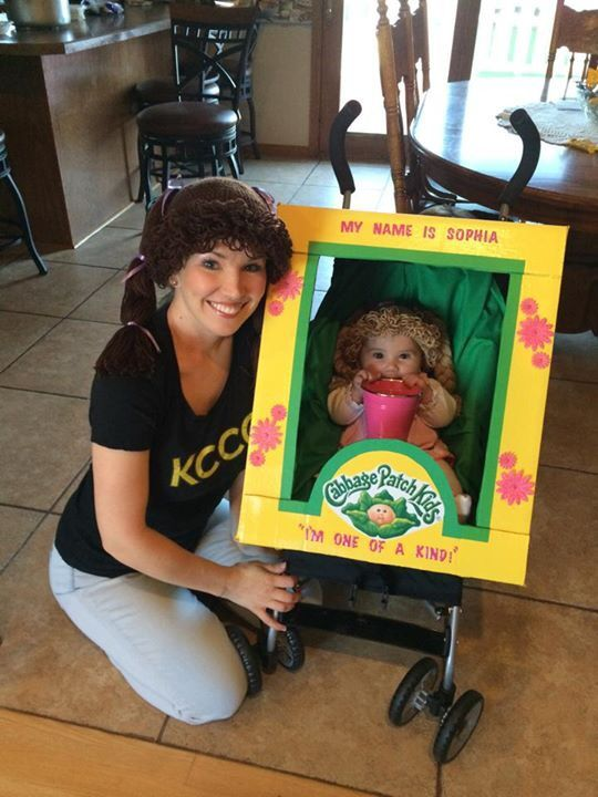 Cabbage Patch Doll Stroller Costume Halloween Costume