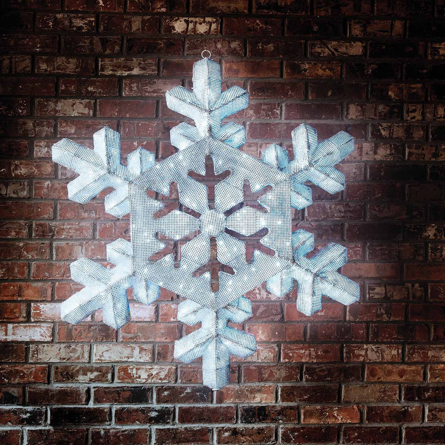 remote control 2d led snowflake decoration 43 sams club - Sams Club Outdoor Christmas Decorations