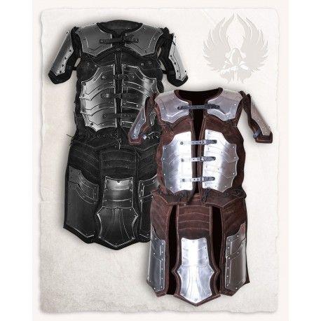 Brigantina médiévale Fafnir. Armures fonctionnelles Armure