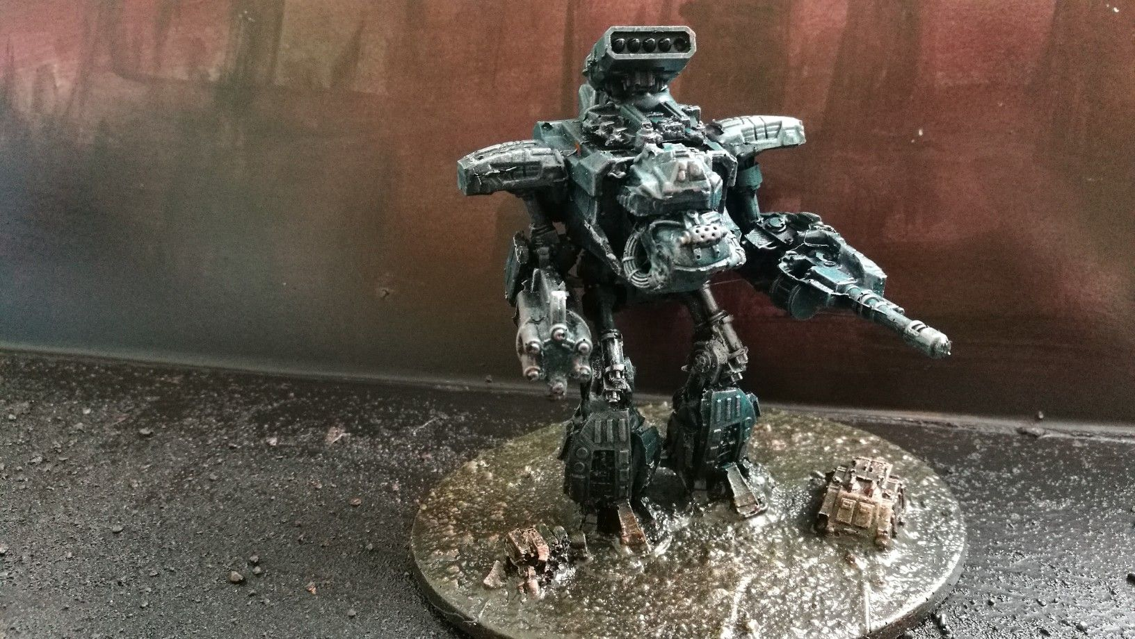 Warhammer Epic 40k true scale reaver titan  It can also be
