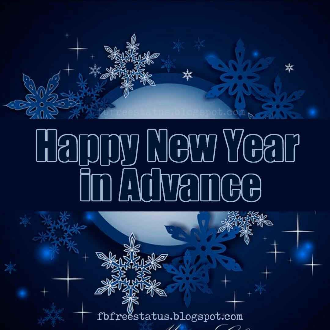 Advance Happy New Year Images Wishes And Quotes Happy New Year