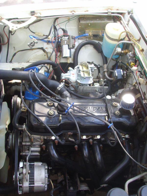 Isuzu Luv Engine Chevy Luv Chevy Land Cruiser