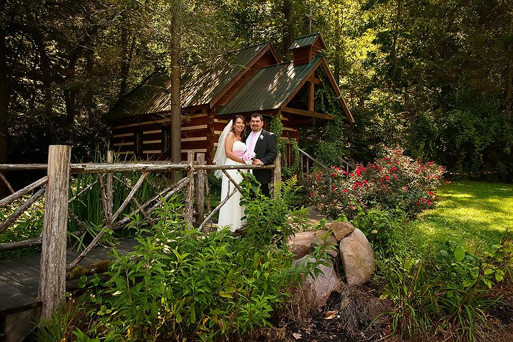 Wedding At The Creekside Cove Chapel Smoky Mountains TN Richblessingsphoto