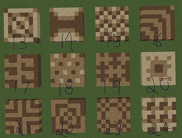 Wood Floor Designs 13 24 Minecraft Ideas And Things Pinterest