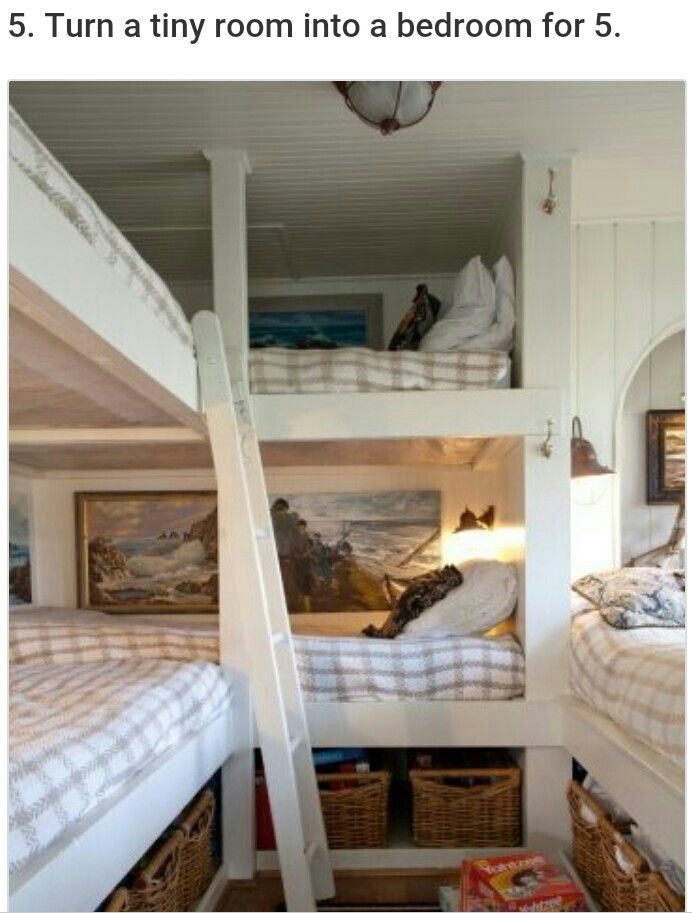 Bunk room for 5