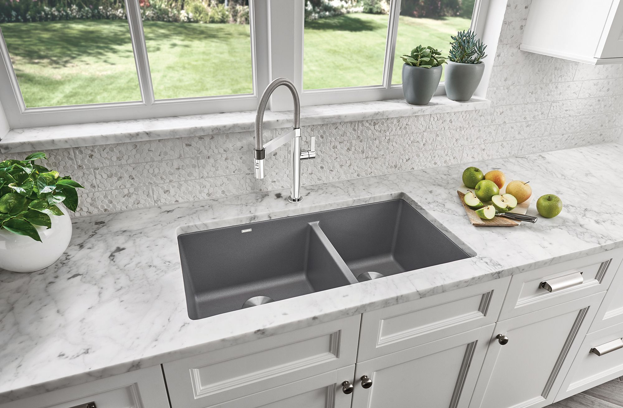 Pin By Carolyn D Amore Rosen On Kitchen Undermount Kitchen Sinks Grey Kitchen Sink Kitchen Remodel