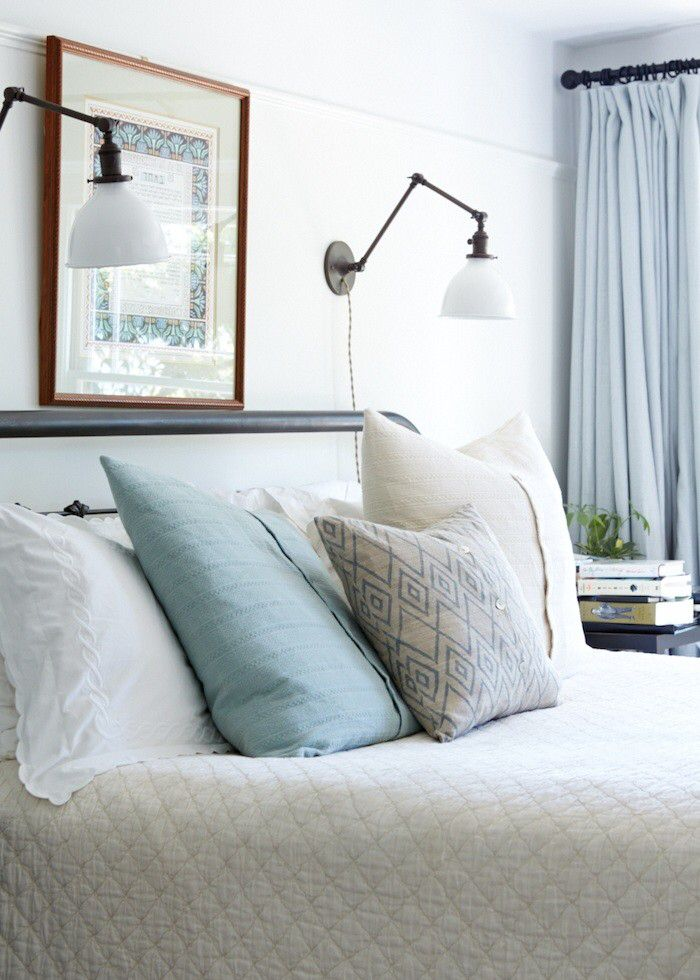 Wall Mounted Lights For Bedroom Enchanting Reading Light Sconces Over Bed  Bedroom Ideasjessica Sin Inspiration Design