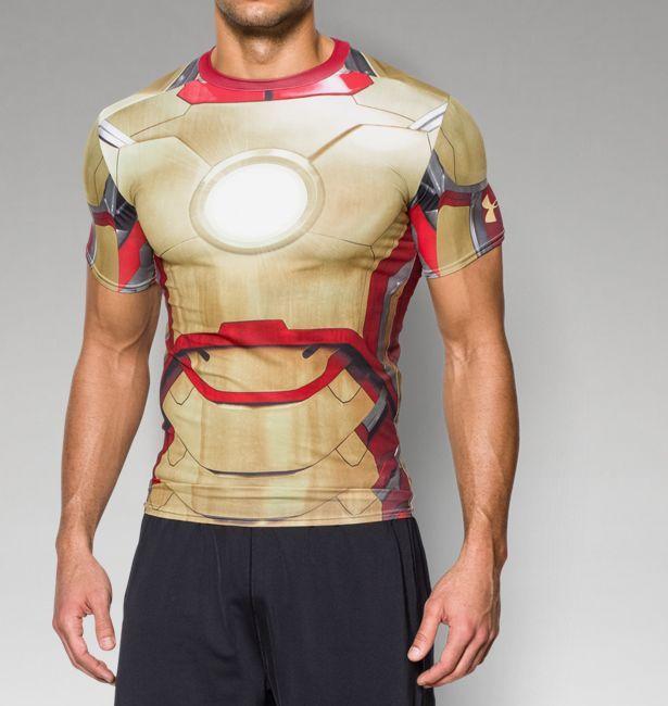 Men S Under Armour Alter Ego Iron Man Compression Shirt Under Armour Us Superhero Shirt Compression Shirt Iron Man